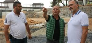 Başkan  Altınok Öz Bulvarspor kulüp başkanı Sebahattin Karaer ile bir araya geldi