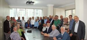 Mahalle sakinlerinden Başkan Sağıroğlu'na sürpriz ziyaret