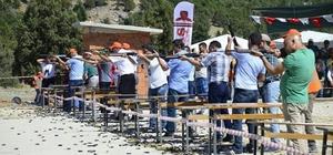 """Beyşehir Huğlu'da """"tek kurşun"""" atış müsabakaları"""