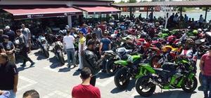 Motosiklet tutkunları Karacabey'de buluştu