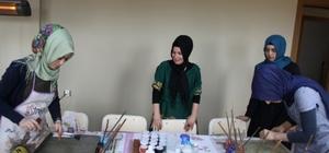 Bingöl'de kadınlar, öğrendikleri meslekle ekonomik kazanç sağlıyor