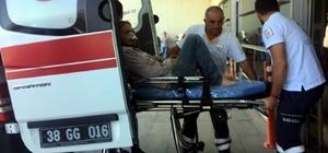 Pınarbaşı'nda sopalı bıçaklı kavga: 5 yaralı