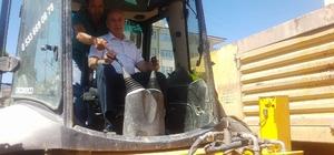 Ilgaz'da doğalgaza ilk kazma dualarla vuruldu