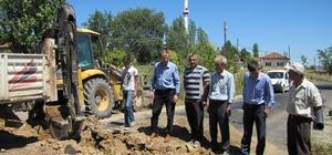 Beyköy İçme Suyu ve Kanalizasyon Şebekesi Hattı yapım çalışmaları