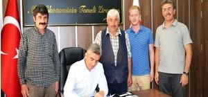 DOKAP 2017 yılı ilk hibe sözleşmesi imzalandı