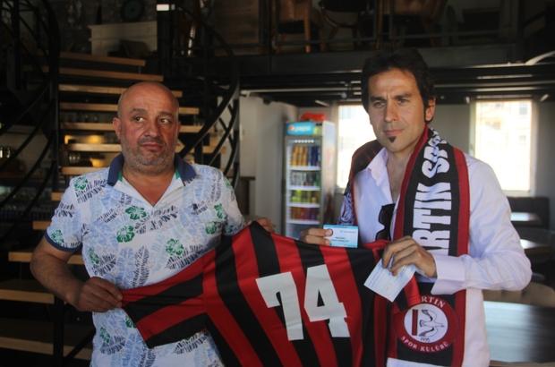 Amatör lig kulübüne eski futbolcusundan büyük destek