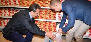 Çukurova'da ihtiyaç sahiplerine gıda yardımı