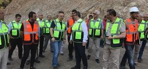 İhsaniye Baraj inşası sürüyor