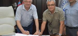 Antandros için sponsorluk protokolü imzalandı