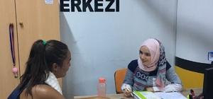 Diyetisyen ve uzman eğitmenler vatandaşlara hizmet vermeye devam ediyor