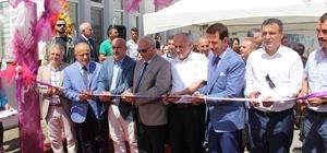Gazi Devlet Hastanesinde sergi ve kafeterya açılışı