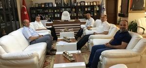Başkan Toçoğlu'ndan Başkan Dişli'ye ziyaret