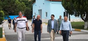 SASKİ Genel Müdürü Keleş, MÜSİAD'ı SASKİ Göl Tesislerinde ağırladı