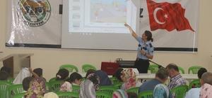 İnönü'de Kur'an kursu çocuklarına trafik eğitimi