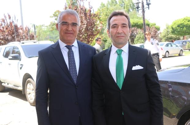 Bingöl Valisi Mantı'dan, Başkan Barakazi'ye ziyaret