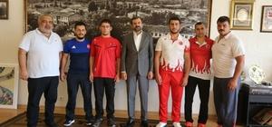 Gürsulu sporculardan Başkan Işık'a ziyaret