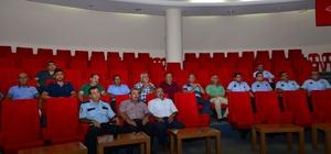 Kumluca'da Şüpheli paket semineri