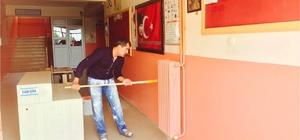 Dilovası'nda okulların çevre düzenlenmesi yapıldı