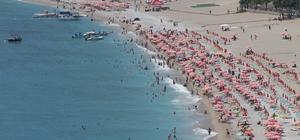 evsim normallerinin üzerine çıkan sıcaklık sahilleri doldurdu