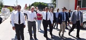 Vali Su, Mersin-Tarsus OSB'de incelemelerde bulundu