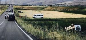 Muradiye'de trafik kazası: 7 yaralı