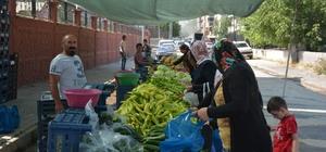 Tatvan'da halk pazarı kuruldu