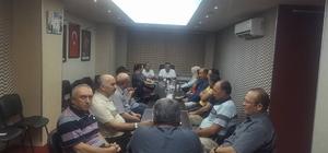 Ak Parti Bilecik Merkez İlçe Başkanlığı Yönetim Kurulu toplandı