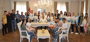 TÖMER Yaz Okulu öğrencileri Sivrihisar'ı gezdi
