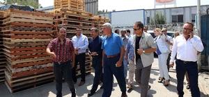 Başkan Karaosmanoğlu'ndan sanayicilere ziyaret