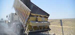 Ergani'de 12 kırsal mahallenin yolları yenilendi