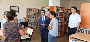 Vali Aktaş, Kültür ve Turizm Müdürlüğüne bağlı birimlerde incelemeler yaptı