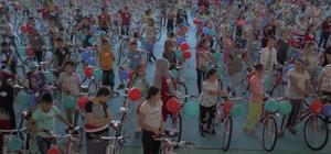 Şahinbey'de 3 bin 500 bisiklet dağıttı