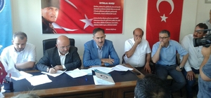 Kırıkkale Sağlık-Sen'de Akdoğan ile yola devam