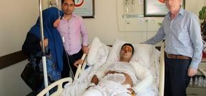 Emniyet Müdürü Bilen'in sağlık durumu iyiye gediyor