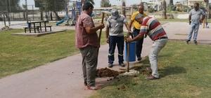 Akdeniz Belediyesi parkları revize ediyor