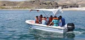 Sahil kenti Kocasinan'da gemi ehliyeti sınavı
