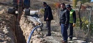 Beyşehir bahçe evleri suya kavuştu