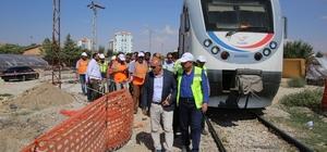 TCDD Genel Müdürü Apaydın, Karaman'da hızlı tren çalışmaları inceledi