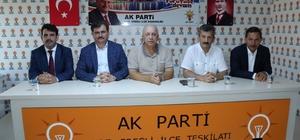 AK Parti Zonguldak Milletvekilleri Özbakır ve Çaturoğlu partililerle buluştu