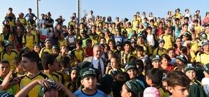 Osmaniye'de Yaz Spor Okullarına 2 bin öğrenci katıldı