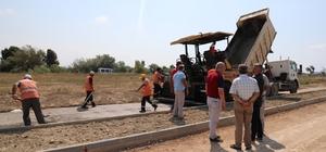 Manavgat Belediyesi'nin yeni asfalt plent tesisi faaliyete geçti