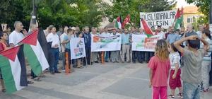 Besni İslami Dayanışma Platformundan İsrail'e Mescid-i Aksa tepkisi