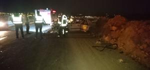 Develi'de trafik kazası:10 yaralı