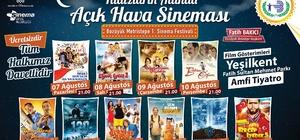 Bozüyük Türk sinemasının seçkin filmleri ile açık havada buluşuyor