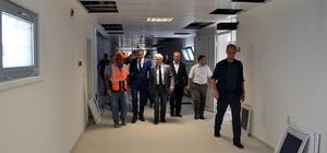 Vali Kamçı Bünyan Cezaevi'nde incelemelerde bulundu