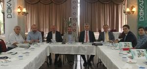 Artvin Milletvekili Kışla, DOKAP çalışmaları hakkında bilgi aldı