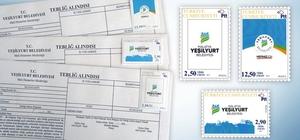 Yeşilyurt Belediyesi özel posta pulu bastırdı