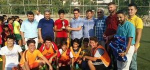 Kuran Kurslararası futbol turnuvası sona erdi