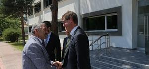 Başkan Çelik, Kayserigaz'ın yönetim kurulu toplantısına katıldı