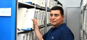 Kepez'e 67 bin dosya kapasiteli arşiv